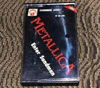 Metallica – Metallica. Enter Sandman, Black Album... VG Cassette Tape. 1MG