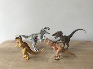 Jurassic World Dinosaur Bundle Indominus Rex Velociraptor Pachycephalosaurus