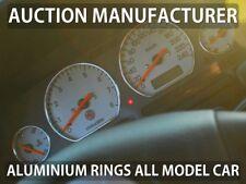 Land Rover Freelander 98-03 Polished Aluminium Gauge Rings Chrome Trim Surrounds