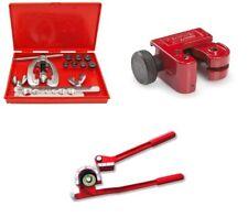 Tubing Bender Cutter Double Flaring Tool Kit 3 Way Brake Water Gas Line Plumbing