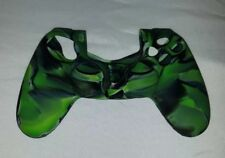 Green Silicone Rubber Soft Skin Cover for SONY PlayStation 4 PS4 Controller