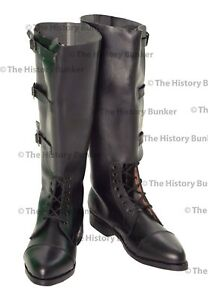 WW1 British officer boots BLACK - MADE TO YOUR SIZES