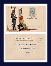 FRANCE MILITARY HISTORY 1810 INFANTERIE LEGERE 1904 TO HENRI BOURGOIN, SARTHE