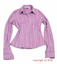 L212/15 Hawes & Curtis City Fitted Pins Cuff Fuchsia Elegant Sexy Shirt,UK 10,38