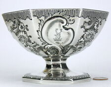 English London Georgian Solid Sterling Silver Compote Wakelin & Taylor c1786