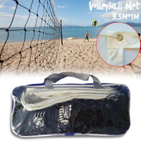 Outdoor Volleyball Net Professional Sport Heavy Duty Set With Bag Beach Games