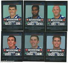 "2001 Teamcoach Silver NORTH MELBOURNE Team Set (6 Cards) "" """