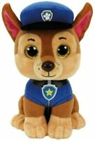 TY 41208 Paw Patrol - Chase with Glitter Eyes 15 cm Multicolored