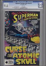 Superman Man of Steel #5  CGC 9.6  1993 DC Comic Curse of the Atomic Skull