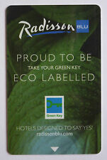 Schlüssel-Karte / Hotelkarte: Hotel Radisson Blu (Grün)