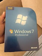 Microsoft Windows 7 Professional Upgrade 32 & 64 Bit DVDs MS WIN PRO Sealed New