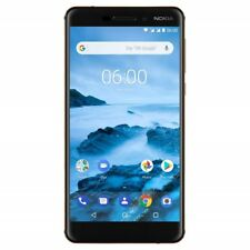 "Nokia 6.1 (2018) - Android One (Oreo) - 32 GB - Dual SIM Unlocked - 5.5"" - Black"