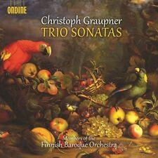Graupner / Finnish Baroque Orch - Trio Sons [New CD]