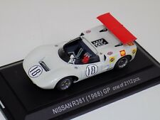 1/43 Ebbro Nissan R381 Groupe 6 Car #18 1968 in White  #494