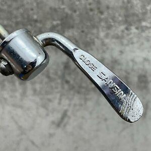Sansin Front Skewer Vintage Japan Road Bicycle QR Quick Release