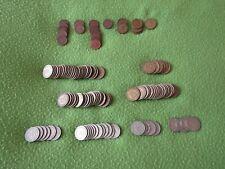 BRD Deutschland - Bank deutscher Länder Münzen - 1 5 10 50 Pfennig - D F G J