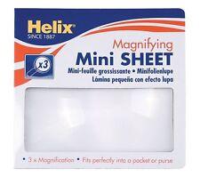 ELICA MINI lente di ingrandimento Sheet mn1015 - 3x magnfication dimensioni tascabile, Libri / Mappe ETC