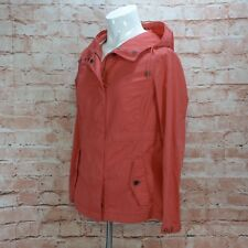 b1a68d0ad0d LadiesTimberland Earthkeepers Red Cotton Hooded Coat Jacket Label S