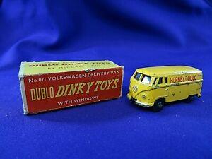 Dublo Dinky Toy 071 Volkswagen Delivey Van Boxed