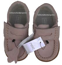 New Girls Pink Leather NEXT Shoes Size 9 Infant RRP £27 DEFECTS