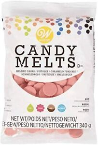 WILTON RED Candy Melts - Cake Pop, Sweets, Chocolate, Cake Decoration 340g