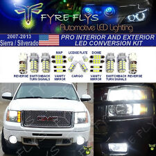 22 Piece LED Pro Package Super Bright 6000K Xenon White for Interior & Exterior