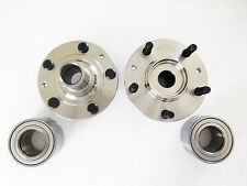 Front Left & Right Wheel Hub & 2 Front Wheel Bearing Set MAZDA 6 2003-2008