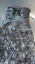 bnwt cerruti cocktail dress size large 10/12 - cruise / wedding / party / prom