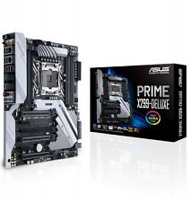 Asus PRIME X299-DELUXE DDR4 Intel Socket 2066 ATX Desktop PC Motherboard