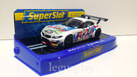 Slot Scx Scalextric Superslot H3855 BMW Z4 GT3 2015 24 Hours Of Spa Roal nº 9