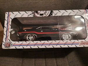 1970 Dodge Challenger Ground Pounders  Black 1:18 Scale By M2