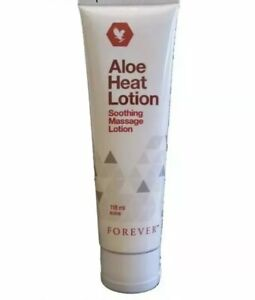 Forever Living Aloe Heat Original Lotion Soothing Massage 118ml New