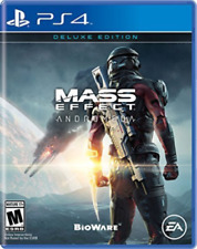 mass effect andromeda deluxe edition US IMPORT  new&sealed  ps4
