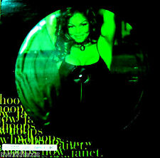 "12"" + POSTER - JANET JACKSON - WHOOPS NOW (PICTURE DISC) NUEVO OYELO*MINT LISTEN"