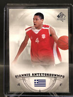 2013-14 UD SP Authentic #36 Giannis Antetokounmpo RC Rookie BUCKS MVP