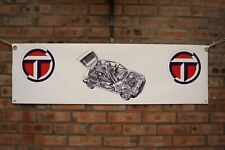 Talbot Samba large pvc heavy duty WORK SHOP BANNER garage