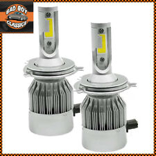 Conversión H4 LED Headlight Bulbs Alta/Baja viga 6000K Ford Fiesta 2000-08