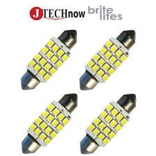"""4x 42mm(1.72"""") 16-SMD DC 12V Super Bright White LED Bulb 211, 212, 211-2, 212-2"""