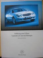 Mercedes Service   W 211 E Klasse Taxi + Mietwagen