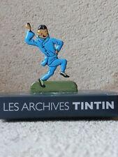 Figurine métal Tintin Le lotus bleu MOULINSART