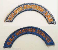 Patch original WWII USA AAF Weather Serv ( 064 )