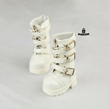 1/6 BJD Shoes Yosd Dollfie DIM white Boots DREAM DOD AOD SOOM MID Luts Dollmore