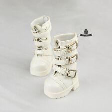 1/6 BJD Shoes Yosd Dollfie DIM white Boots DREAM DOD AOD SOOM MID Luts Dollmore