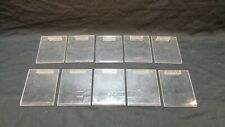 Acrylic Slatwall 4 X 5 Sign Holder Retail Store Price Display Lot Of 10