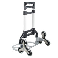 176lb Adjustable Stair Climbing Hand Truck Portable For Warehouse Appliance Cart