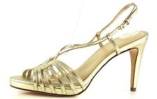 Cole Haan Air VIOLET Gold Strappy Sandals 8887 Size 9.5 B NEW!