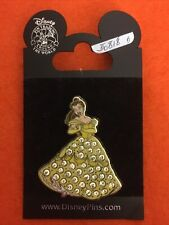 Disney Pin Belle Beauty and the Beast Jeweled Dress Retired