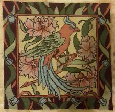 Bird Tapestry design Royal School of Needlework Ehrman Victorian Bird vintage