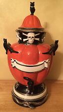 Halloween Pumpkin Skull Cider Server by Department 56