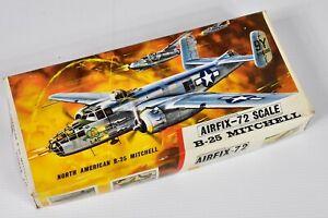 VINTAGE BNIB SERIES 4 AIRFIX RED STRIPE 72 SCALE MODEL B-25 MITCHELL